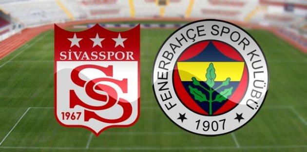 Fenerbahçe kendi evinde Sivasspor'u ağırlayacak