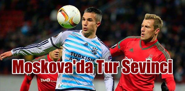 Fenerbahçe Moskova'da tur atladı: Nefes kesen maç