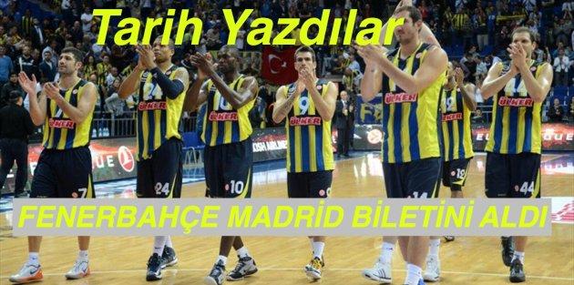Fenerbahçe Ülker Tarih Yazdı