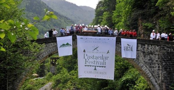 Fırtına Vadisi'nde Uluslararası Pastacılar Festivali başladı