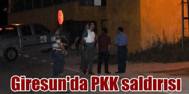 Flaş haber; PKK'lı Teröristler Karadeniz'e indi, Giresun'da karakola saldırı