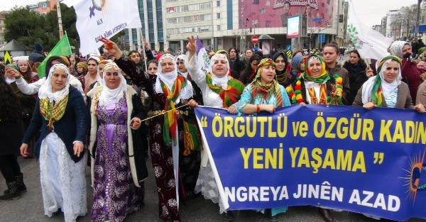 fotoğraflar - Kadıköy'de  Dünya Emekçi Kadınlar Günü'ne mitingli kutlama