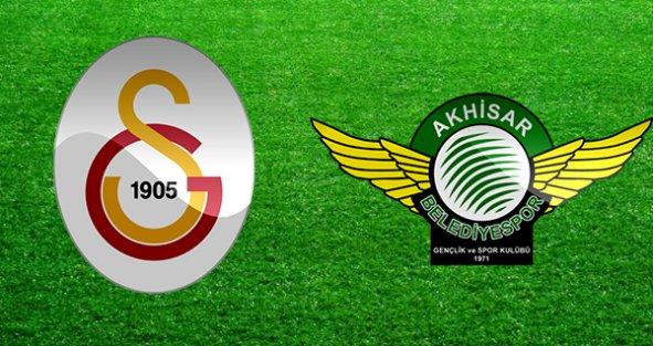 Galatasaray Akhisar maçı 2-1 sona erdi