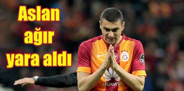 Galatasaray kendi sahasında dağıldı