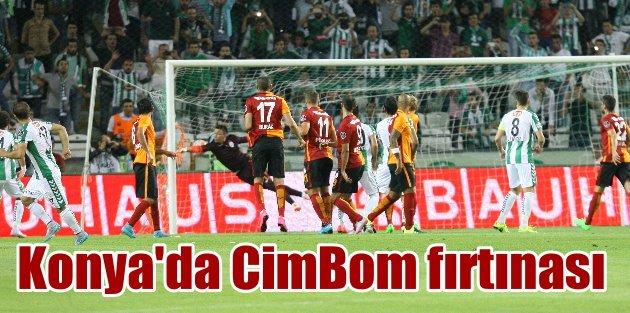 Galatasaray, Konyadan 3 puan ve 4 golle dönüyor