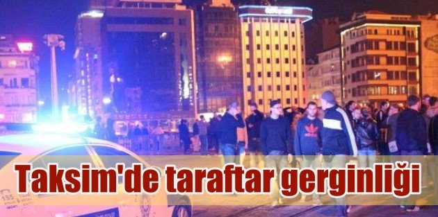 Galatasaray Ve Dortmund Taraftarı Arasında Gerginlik