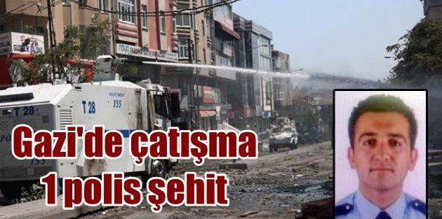 Gazi Mahallesinde hain pusu; 1 polis şehit