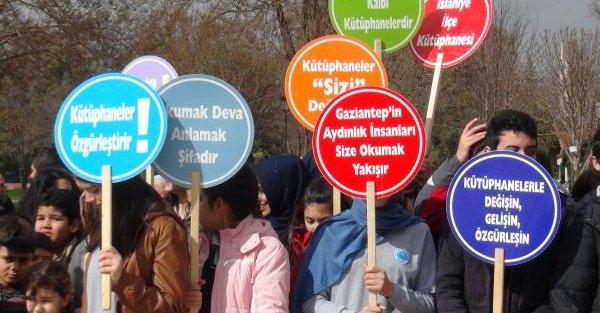 Gaziantep kütüphaneye aktif kayıtta Türkiye'de 4'üncü