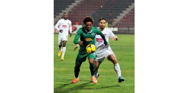 Gaziantepspor - Akhisar Belediye: 1-0