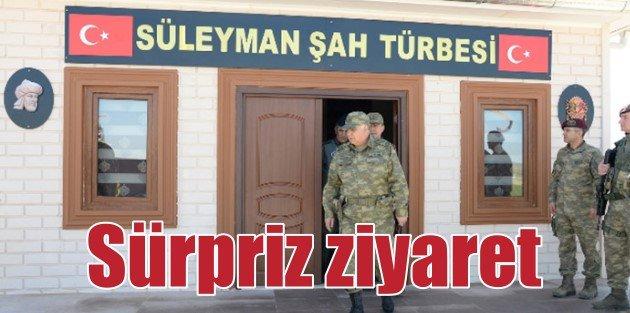Genelkurmay Başkanı Süleyman Şahın yeni türbesinde