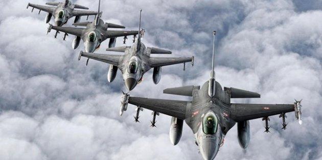 Genelkurmay: F-16'lar...