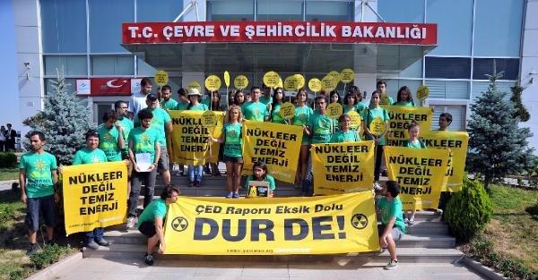 Greenpeace: Nükleere İtiraz İçin Son Gün 10 Kasım