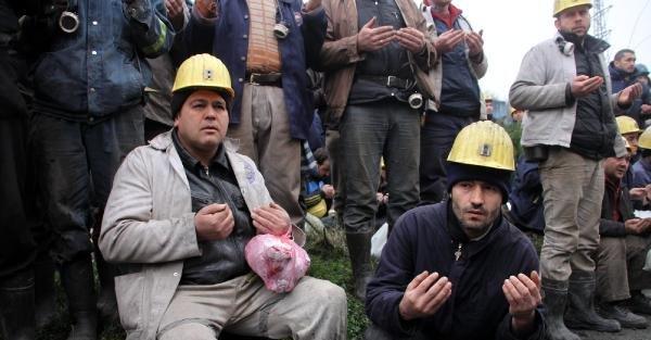 Grizuda ölen 103 madenci dualarla anıldı