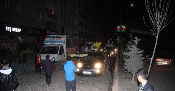 Hakkari'de Fenerbahçe coşkusu