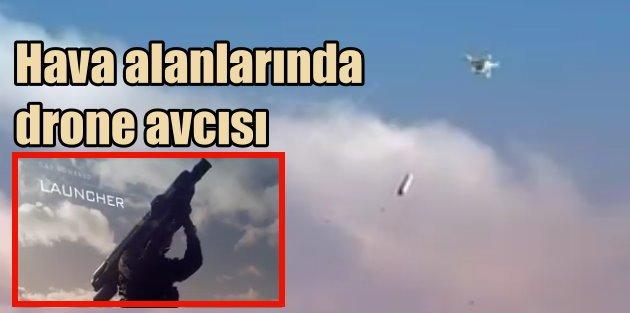 Hava alanlarına drone avcısı roket sistemi geliyor