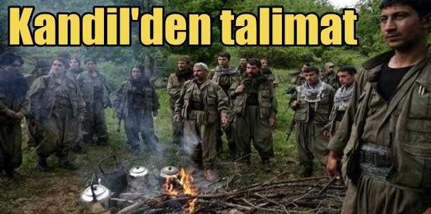 HDP umudunu PKKya bağladı: Terör baskısı