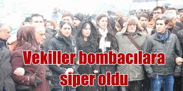HDP'li vekilin arkasından polise bomba attılar