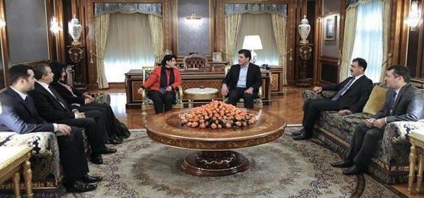 HDP'li Zana ve Önder Kuzey Irak'ta