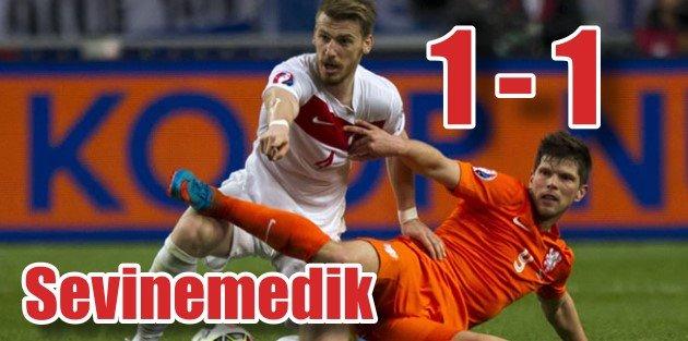 Hollanda 1 -  Türkiye 1 | GENİŞ ÖZET