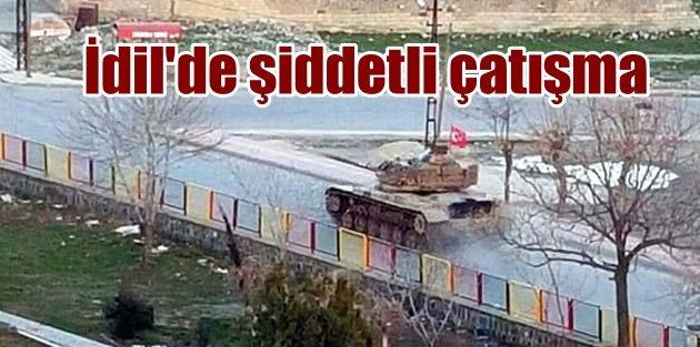 İdil'de şiddetli çatışma, Güvenlik güçleri oraya girdi