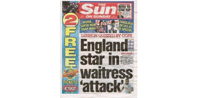 İngiliz Milli futbolcu...