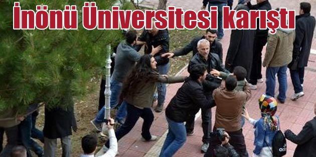 İnönü Üniversitesi'ni karıştıran patlama: 65 gözaltı var