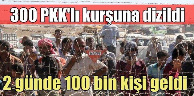 IŞİD 300 PKKlıyı kurşuna dizdi