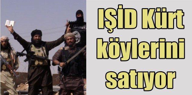 IŞİD ele geçirdiği kürt köylerini satlığa çıkardı