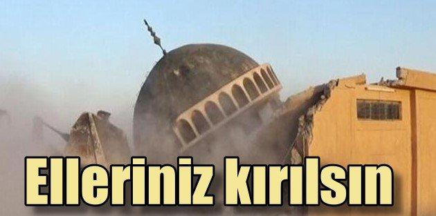 IŞİD'li caniler Osmanlı camisini yerli bir etti