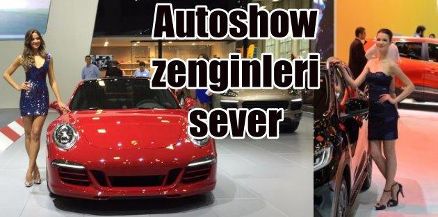 İstanbul Autoshow 2015 zenginleri bekliyor