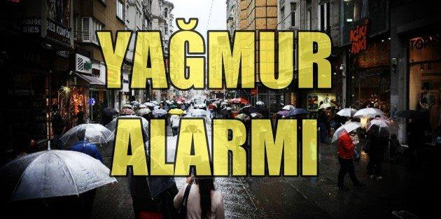 İstanbul için fırtına...