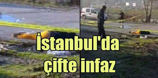 İstanbulun göbeğinde çifte infaz; Başlarına sıktılar
