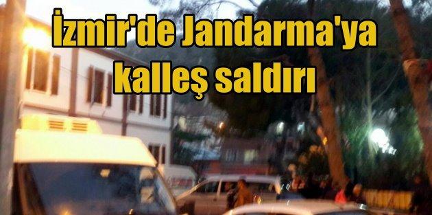 İzmir Kemalpaşa jandarma komutanlığına roketli saldırı