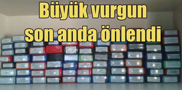 İzmir Polisi sahte fatura vurguncularını enseledi