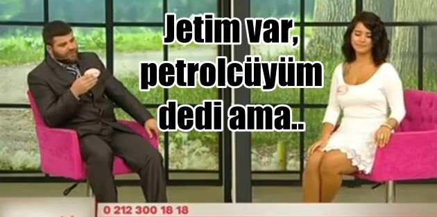 Jet sahibi petrolcü işadamını 'Hayır' diyen kız