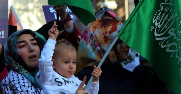 Kahramanmaraş'ta Mescid-i Aksa Protestosu