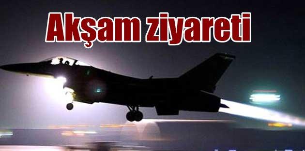 Kandil'e akşam operasyonu, Jetler bomba yağdırdı