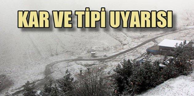 Kara kış önce yolları sonra şehirleri vuracak.