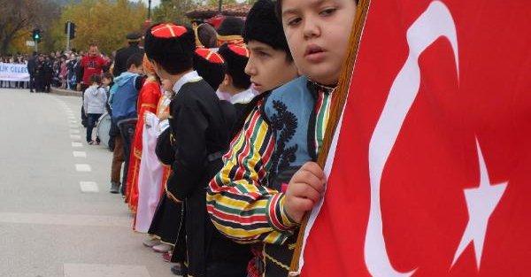 Kastamonu'da Cumhuriyet Bayramı Kutlandı