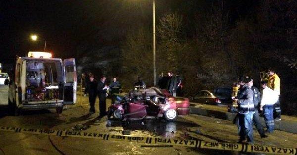 Kastamonu'da kaza: 4 ölü, 2 yaralı