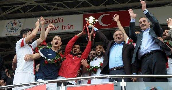 Kastamonuspor 1966 şampiyonluğunu ilan etti