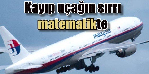 Kayıp Malezya uçağının sırrı matematikle çözüldü