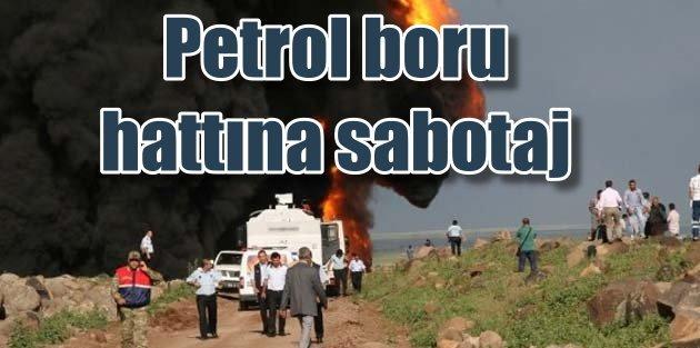 Kerkük Yumurtalık Petrol Boru Hattı'na sabotaj