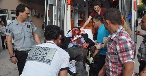 Keşan'da silahlı kavga: 4 yaralı