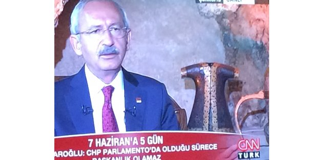 Kılıçdaroğlu'ndan Davutoğlu'na Hodri Meydan
