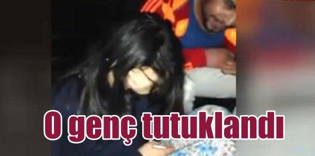 Kız arkadaşının videosunu yükleyen genç tutuklandı