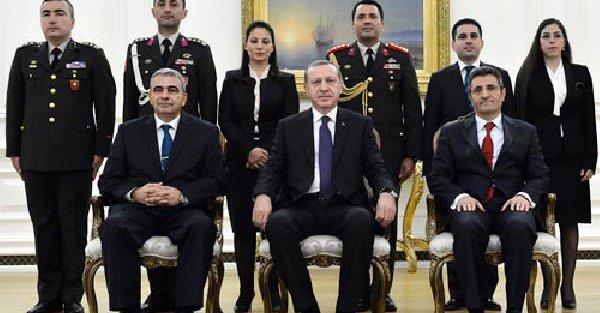 Kktc Büyükelçisi'nden Cumhurbaşkanı Erdoğan'a Güven Mektubu