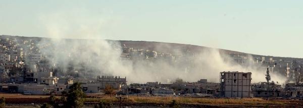 Kobani'de Çatişmalar Devam Ediyor, Gazetecilere Güvenli Bölge Oluşturuldu