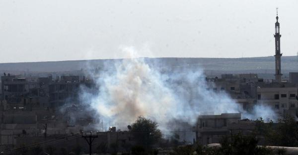 Kobani'de son durum, Kobani'de Işid Saldırısı Sürüyor