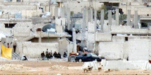 Kobani'de Peşmerge Öncesi Sessizlik